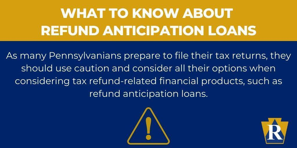 What to Know About Refund Anticipation Loans