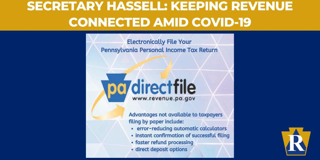 Secretary Hassell: Keeping Revenue Connected Amid COVID-19